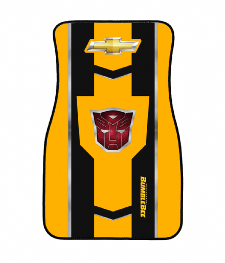 BumbleBee Chevrolet Autobot Transformers Inspired Front Floor Car Mat